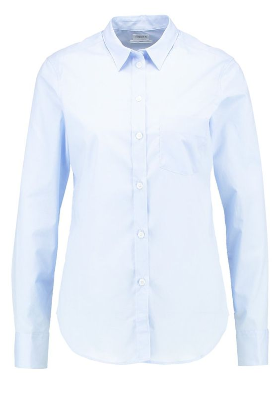 Filippa K CLASSIC Hemdbluse light blue Premium bei Zalando.de | Material Oberstoff: 96% Baumwolle, 4% Elasthan | Premium jetzt versandkostenfrei bei Zalando.de bestellen!: