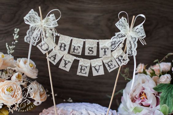 #Weddings  #wedding_ideas  #Rustic  #Burlap #Cake_Topper  #pearl  #cake_banner  #cake_bunting  #wedding_cake_topper  #garland_cake_table  #bunting #just_married  #custom  #center_piece_decorat  #lace  #wedding #wedding_decor #mr_and_mrs #bride #wedding_accessories#winter_wedding  #bow #wedding_cake_toppers #cake_toppers #banner #banners #gâteau_de_mariage_bannière #bannière_de_mariage #mariage #matrimonio #torta_nuziale_bandiera #banner_di_nozze #wedding_cake_topper_banne