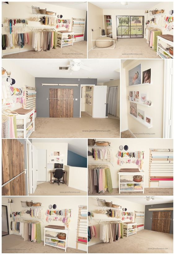 Small newborn studio. www.jenniferreina.com