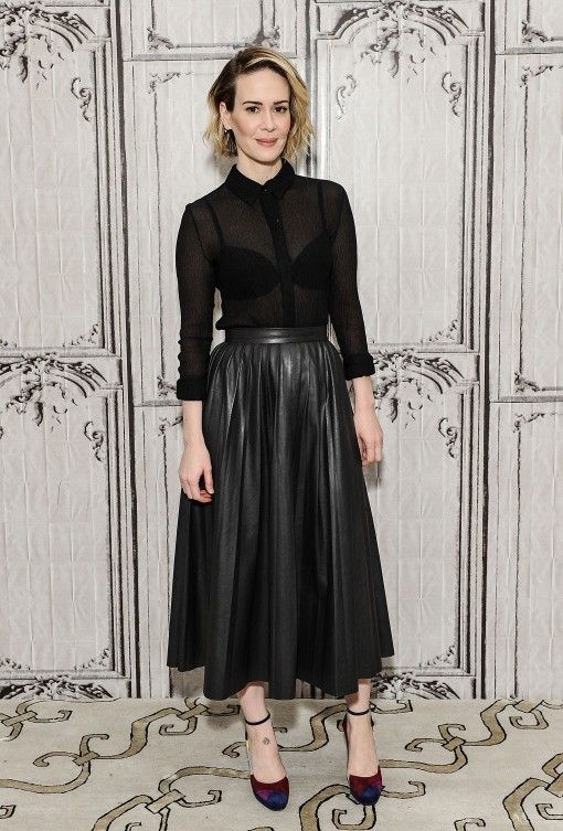 Sarah Paulson Celebrity Style Pinterest Outfit And