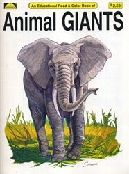 Animal Giants - Coloring Book