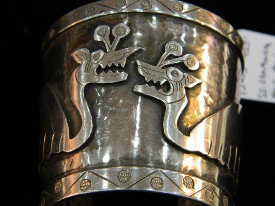 "Graziela Laffi bracelet featured in a blog "" The Mexican Silver Look for Less!"" http://www.jewelrynerd.org/blog.html"