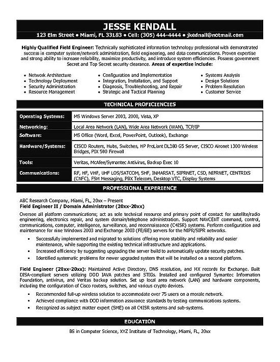 Technical Resume Writing And It Resume Samples It Engineering Resume Example 42052f11 Resumesa Engineering Resume Resume Examples Engineering Resume Templates
