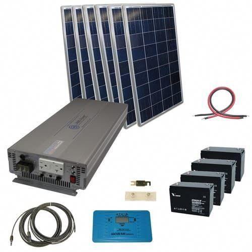 720 Watt Off Grid Solar Kit With 3000 Watt Pure Sine Power Inverter 24 Volt Solarpanels Solarenergy Solarpower In 2020 Solar Technology Best Solar Panels Solar Kit