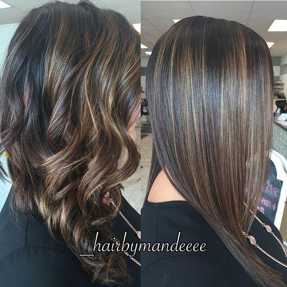 Straight or Curly?! ❤️ #redken #olaplex #unitehair #balayage #behindthechair #styleyourstory #hairpainting #modernsalon #straightvscurly #cilantrohairspa #hairbymandeeee