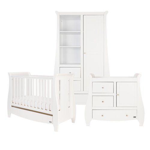 Lucas Cot Bed 3 Piece Nursery Furniture