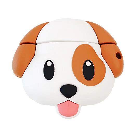 LEWOTE Coque en Silicone Compatible avec Apple Airpods 1 et 2 Cadeau pour Les Enfants gar/çons Filles Motif 3D Cartoon Minions One Eye