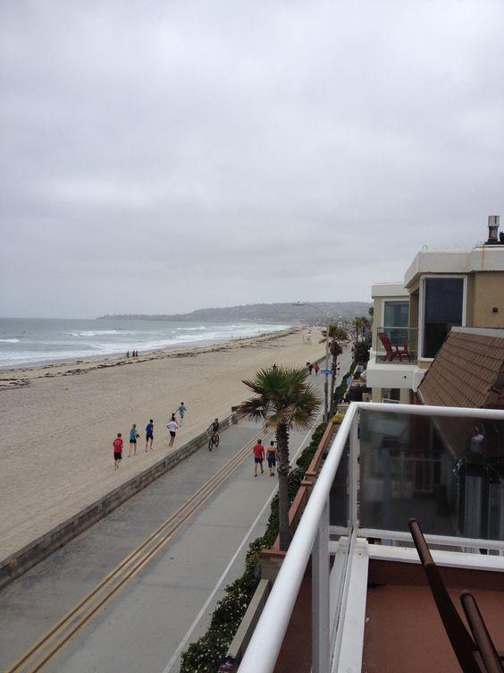Boardwalk living..Mission Beach, CA