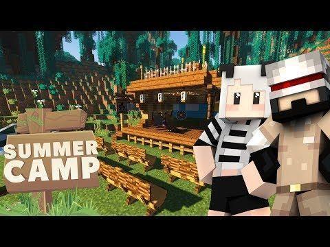 Minecraft Summer Camp Youtuber Server Summer Camp Summer Camping