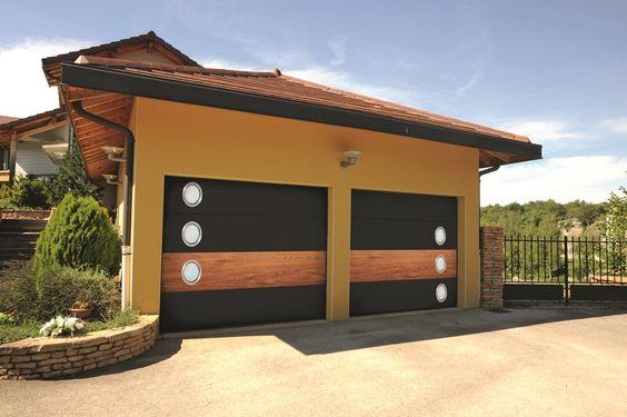 Porte de garage personnalisable Miami by Me de France Fermetures
