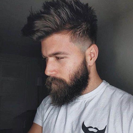 Pin Von Todays Fashion Lifestyle By Auf Mens Hairstyle Frisur Und Bart Vollbart Frisuren