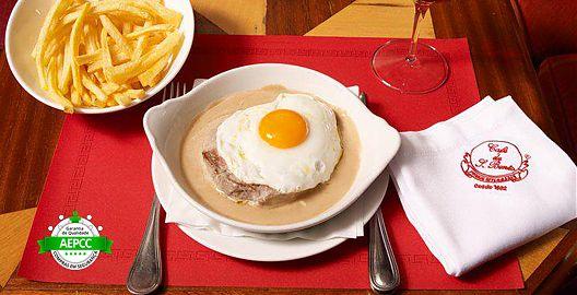 Prove o Melhor Bife de Lisboa! Jantar Divinal a 2 no Café de São Bento Casino Estoril!