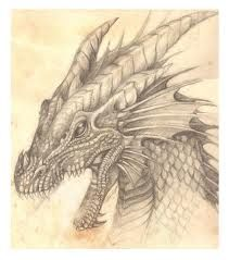 drawings of fire dragons - Google Search