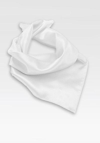 Damentuch Weiß Mikrofaser