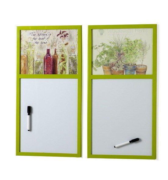 Lavagna magnetica lavagnetta con pennarello regalo utilit e carinerie che mi piacerebbe avere - Lavagna magnetica da cucina ...