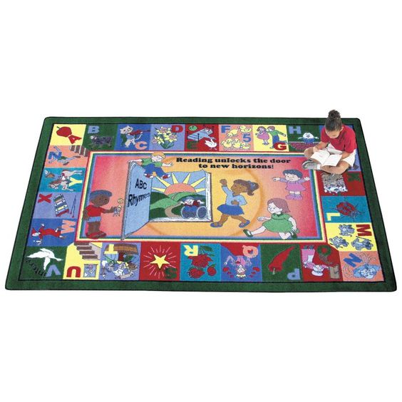 Joy Carpets Read & Rhyme Kids Area Rug - 1457-