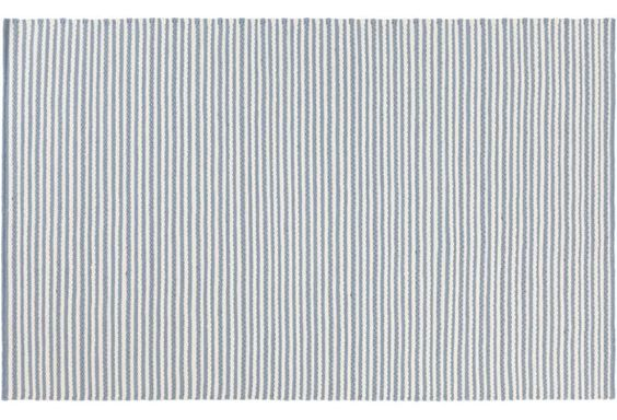 Silas Flat-Weave Rug, Blue
