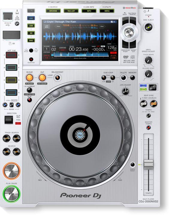 Limited Edition White Nxs2 Dj Performance Kit Pioneer Dj Dj Equipment Dj