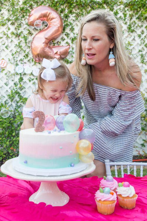 Bubble Birthday Bash Bubble Birthday Girls Birthday Party Themes 2 Year Old Birthday Party Girl