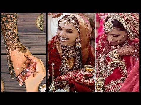 Deepika Padukone Wedding Mehndi Design Video Recreation Youtube Mehndi Designs Bollywood Celebrities Pakistani Mehndi Designs