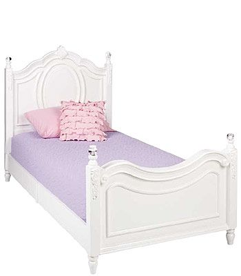 Najarian Furniture Duchess Twin Bed White To Be The