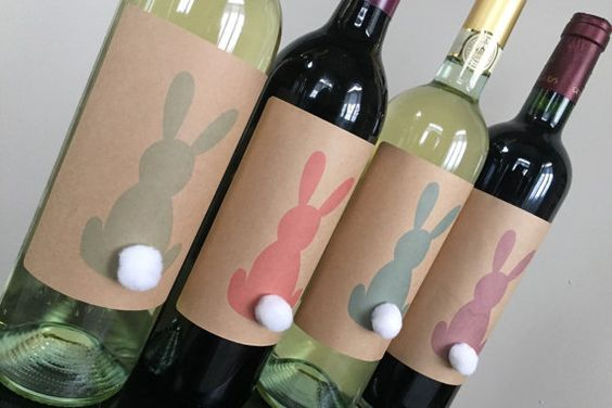 Hey, I found this really awesome Etsy listing at https://www.etsy.com/listing/266575687/easter-wine-labels-easter-table:
