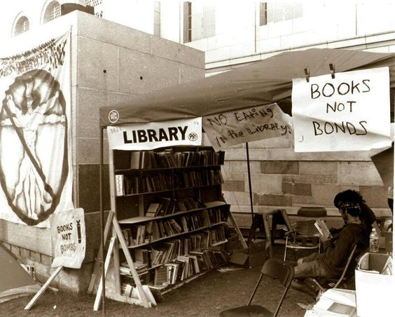 Occupy L.A. Library