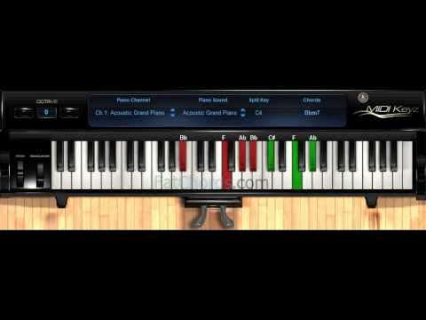 Piano neo soul piano chords : Fat Chords #16 - Piano Progression Voicings Phat Neo Soul Jazz ...