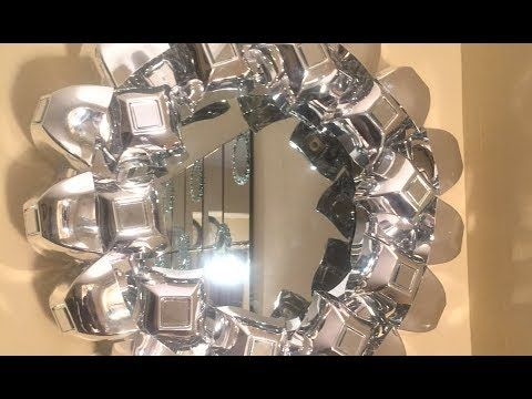 2 Dollar Tree Michael S Diy Easy Decorative Wall Mirror Clipart Espejos Diy
