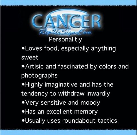 Cancer ♋ Zodiac Sign characteristics / personality