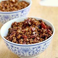 ... granola doughnuts granola cereals and more granola strawberries recipe