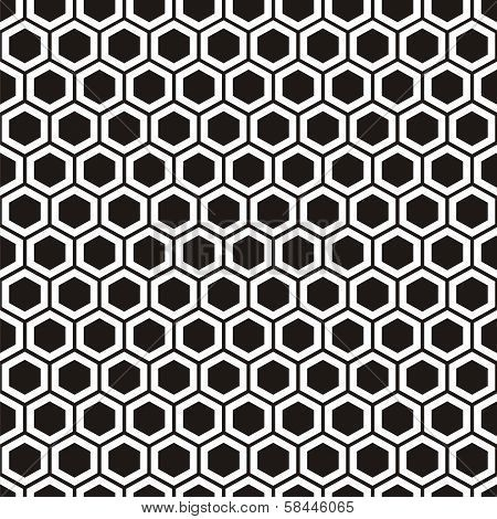 Honeycomb Pattern Poster 家紋 と タトゥー