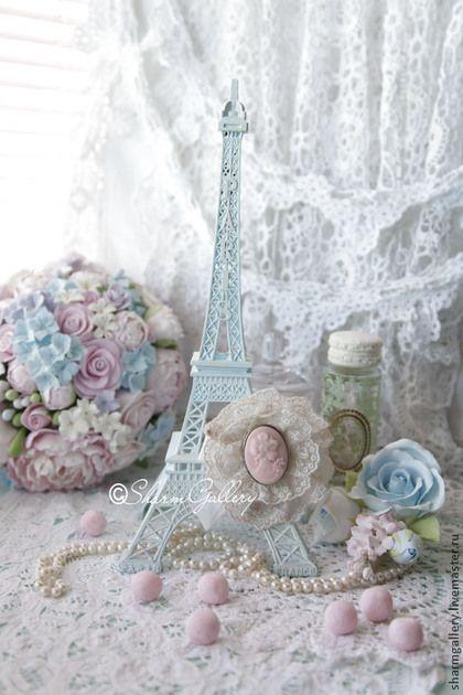 """Купить """"Shabby Tour Eiffel"""". Эйфелева башня. - башенка, Эйфелева башня, арт"""