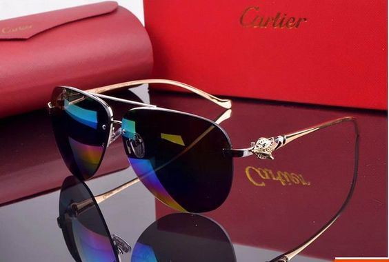 CARTIER - Santos - high quality fashion sunglass -