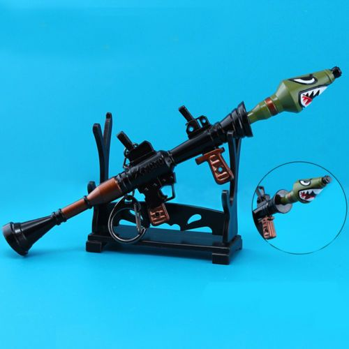 6 7 Fortnite Metal Rpg Action Figure Toys Best Gift With Display Stands Rpg Fortnite Action Figures Toys