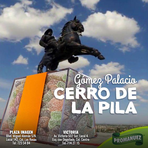 Cerro de la Pila un lugar histórico que puedes visitar en la ciudad de Gómez Palacio, Durango. Declarado como Cuna de la Revolución en el estado de Durango