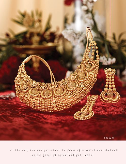 Rivaah Gold Jewellery Collection Online Tanishq Pure Gold Jewellery Gold Jewellery Design Necklaces Gold Pendant Jewelry