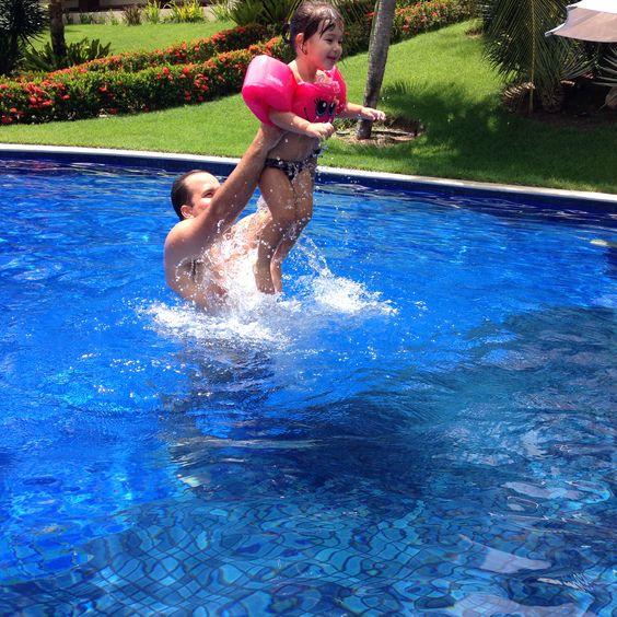 #piscina #tonsdeazul #peixinha