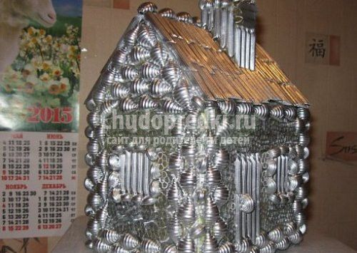 Novogodnie Podelki Domiki Iz Fanery Svoimi Rukami Domik Deda Moroza Svoimi Rukami Poshagovye Master Klassy S Foto Master Class Ceiling Lights Decor