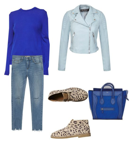 """""""Bez naslova #21"""" by darnelll ❤ liked on Polyvore featuring McQ by Alexander McQueen, Miss Selfridge, Zara, Rusty and CÉLINE"""