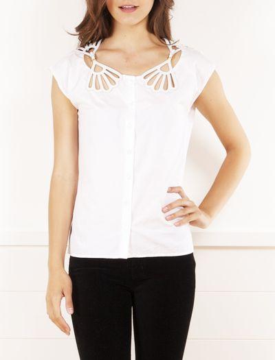 Cotton blouse by Miu Miu