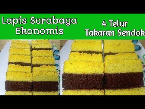 Lapis Surabaya Ekonomis 4 Telur Takaran Sendok Enak Dan Lembut Banget Pakai Oven Tangkring Youtube Telur Sendok Surabaya