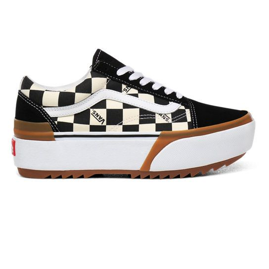 Chaussures Checkerboard Old Skool Stacked | Multicolour