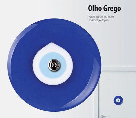 Adesivo para olho mágico - Olho grego