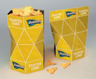Cool doritios packing design!