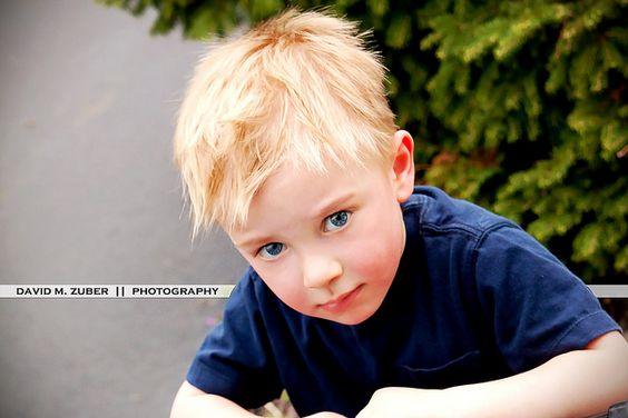 my little blonde blue-eyed bad-ass. ;)