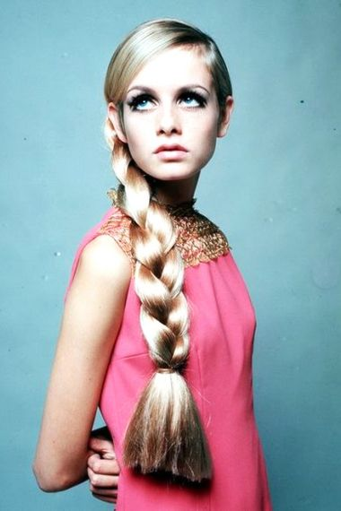 Twiggy In The 60s