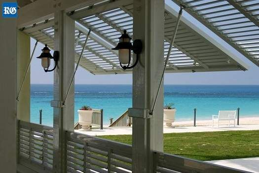 <B>While shutters have been a large part of Bermuda's architectural heritage they also prove their worth in a hurricane.</B>: