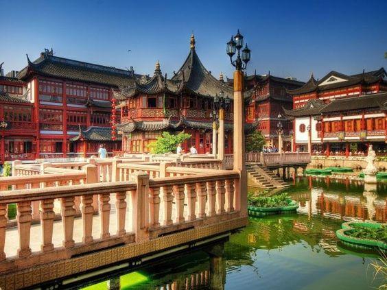 Tea Palace in Shanghai