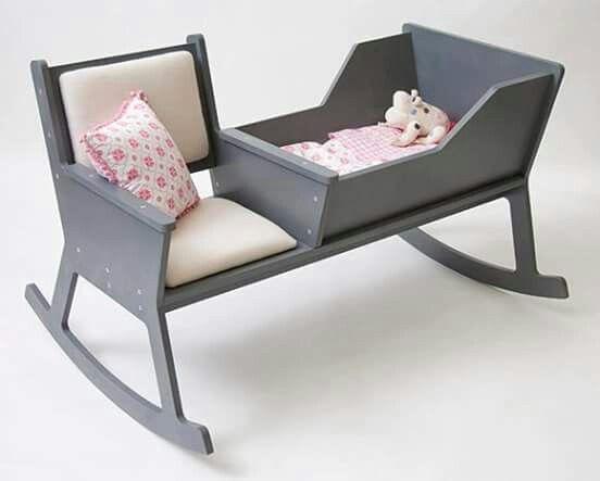 Cadeira de balanço mamãe/bebê